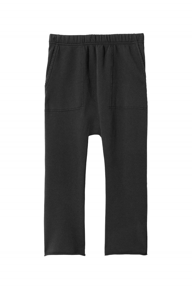 Nili Lotan SF Sweatpant in Washed Black from The New Trend