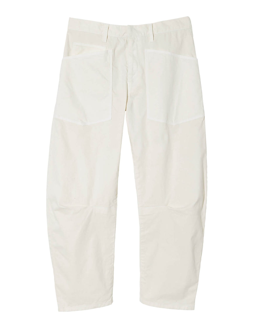 Nili Lotan Shon Pant in Eggshell from The New Trend