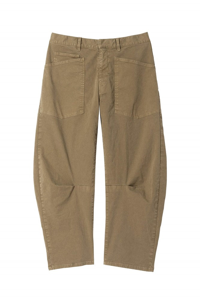 Nili Lotan Shon Pant in Olive Green from The New Trend