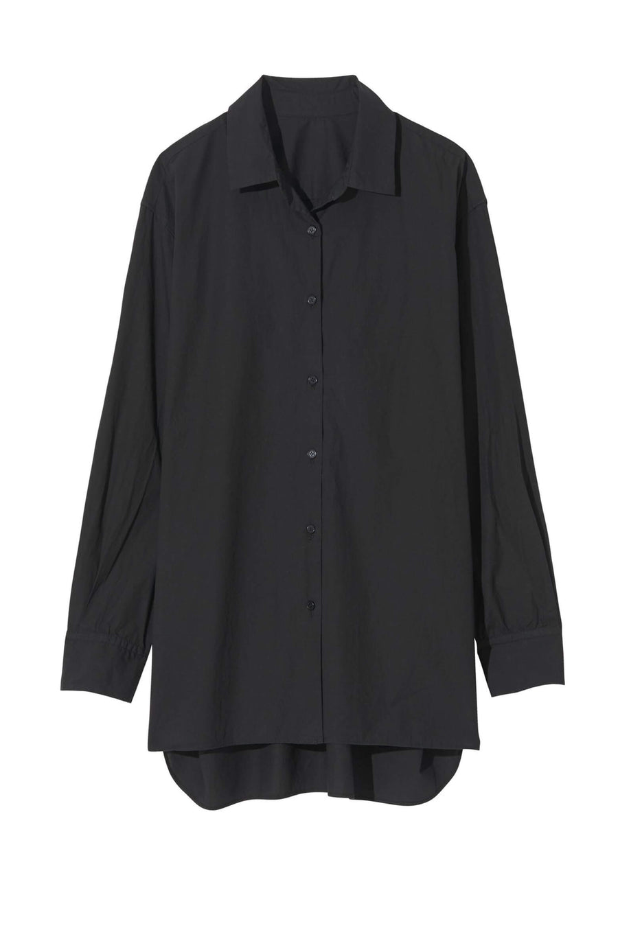 Nili Lotan Yorke Shirt in Black from The New Trend