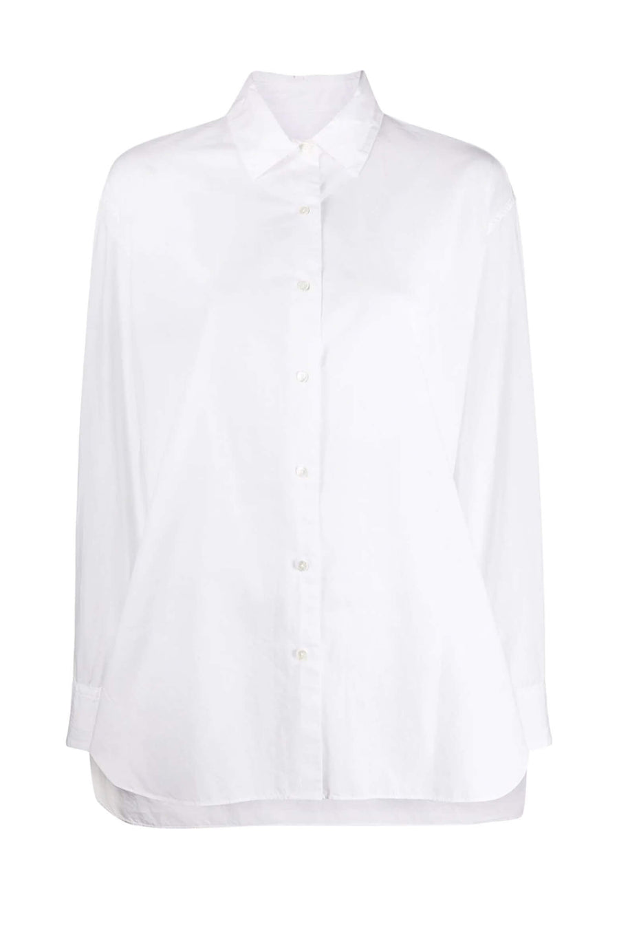 Nili Lotan Yorke Shirt in White from The New Trend