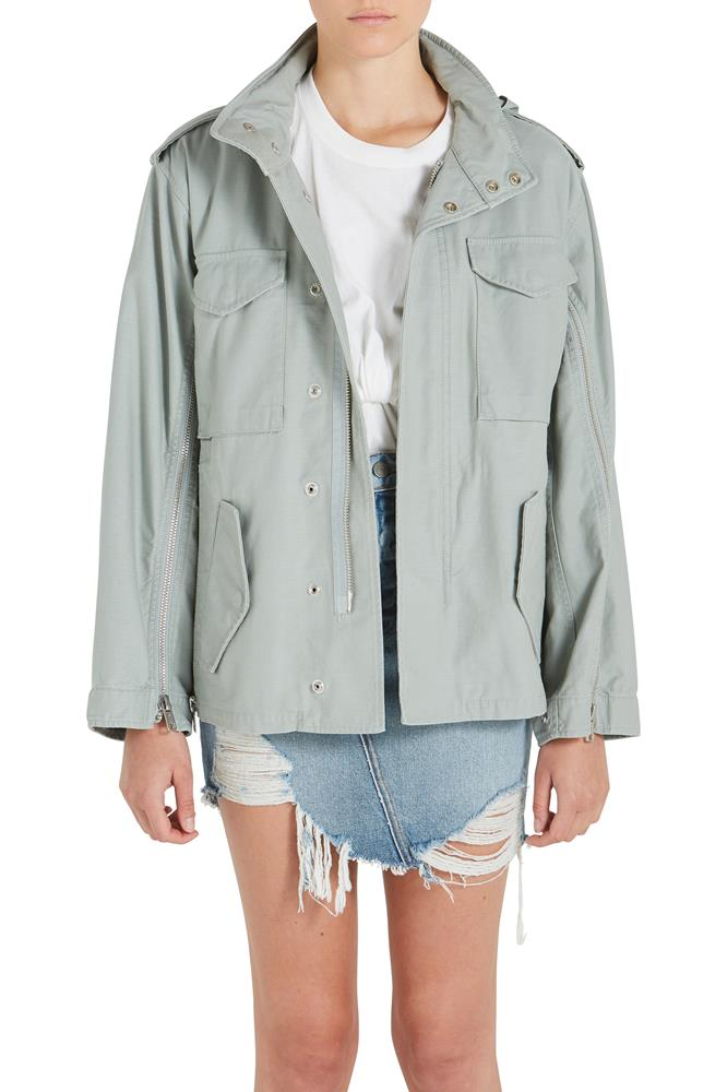 FIELD JACKET W ZIPS