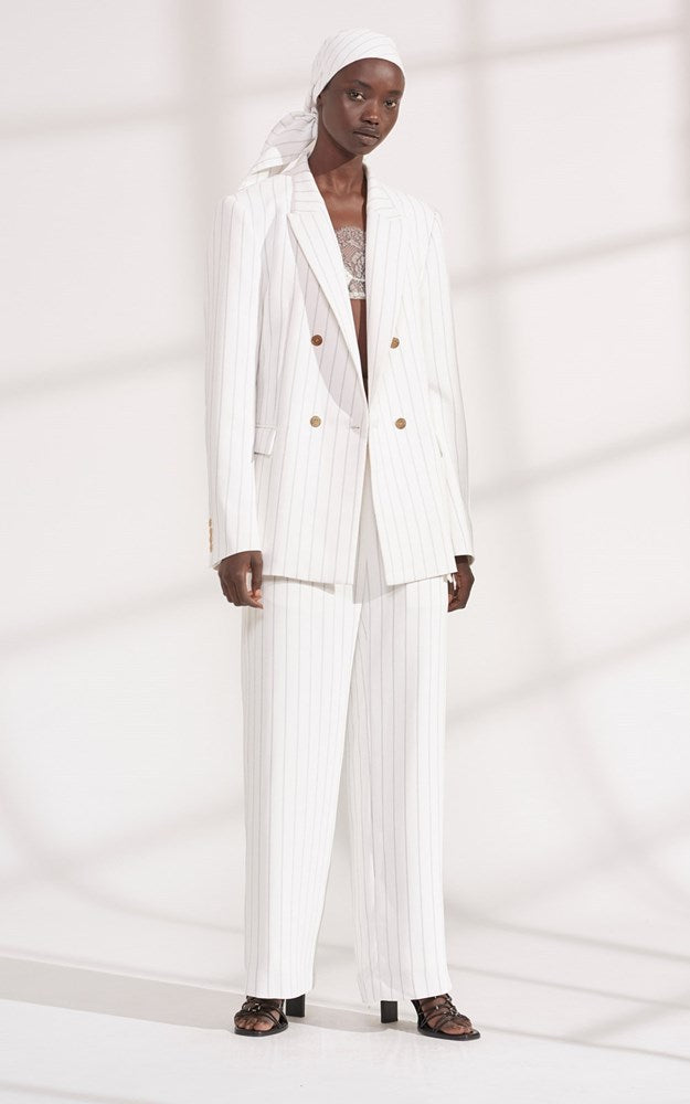 Dion Lee Pinstripe Blazer from The New Trend