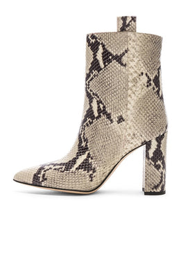 Paris Texas Ankle Boot Natural Snake from The New Trend Side View
