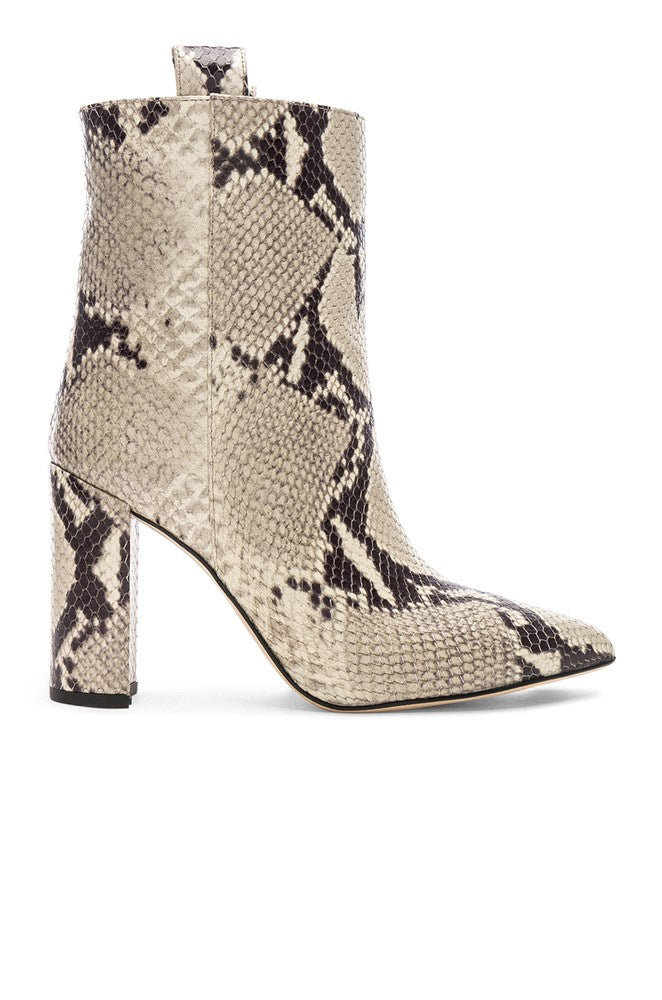 Paris Texas Ankle Boot Natural Snake from The New Trend Default
