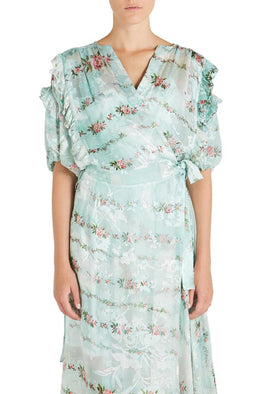 ASHLEY DRESS W/ MINT SLIP