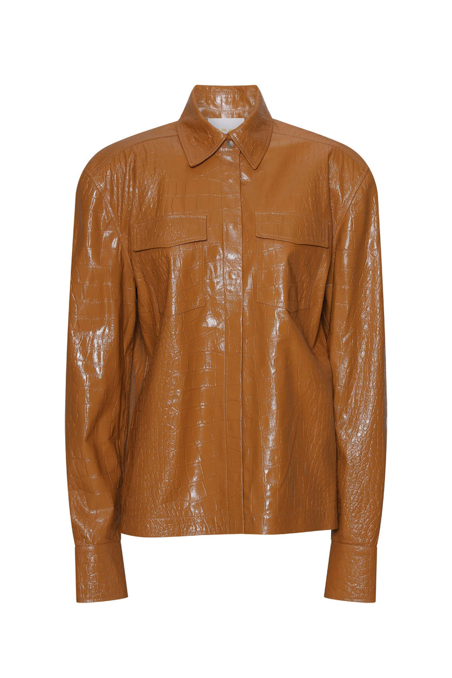 REMAIN Carina Leather Shirt from The New Trend
