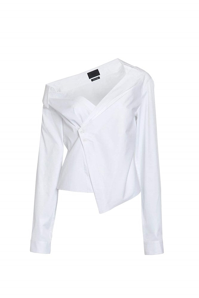 RtA Lizbeth Shirt in White from The New Trend