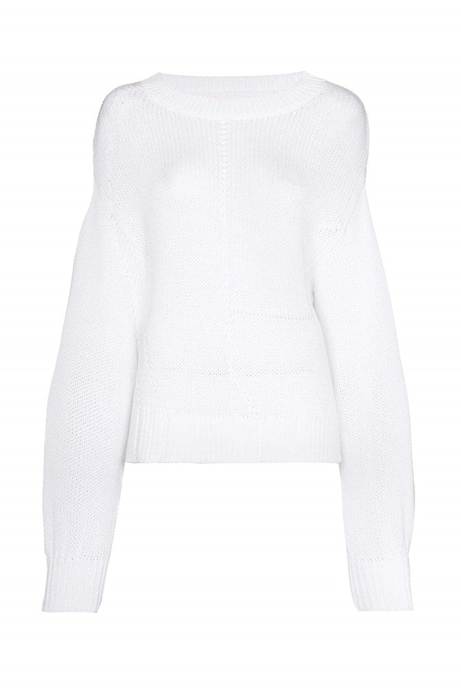 RtA Renaud Sweater in White from The New Trend