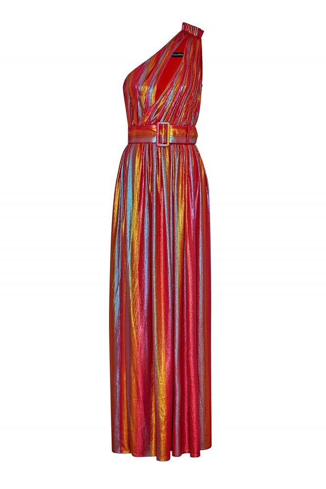 Retrofete Andrea Maxi Dress in Rainbow from The New Trend