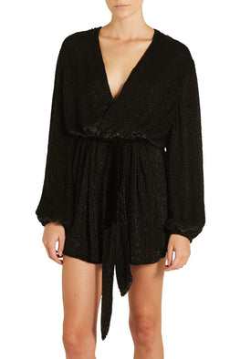Retrofete Gabrielle Robe Black from The New Trend
