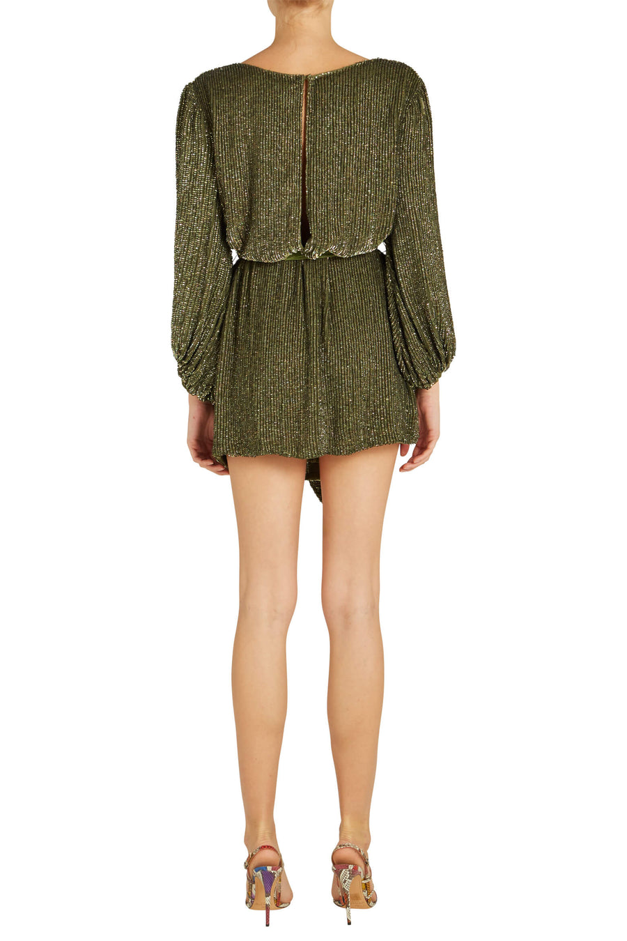 Retrofete Denisa Dress in Army from The New Trend