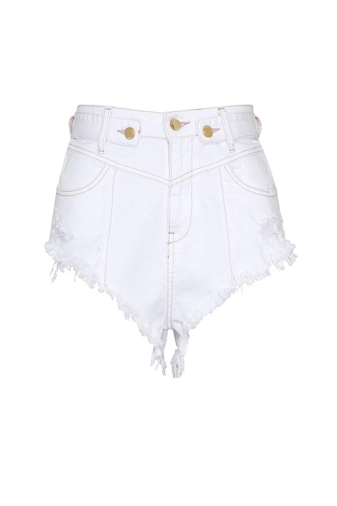 Rêtrofete Tessa Short in Vintage White from The New Trend