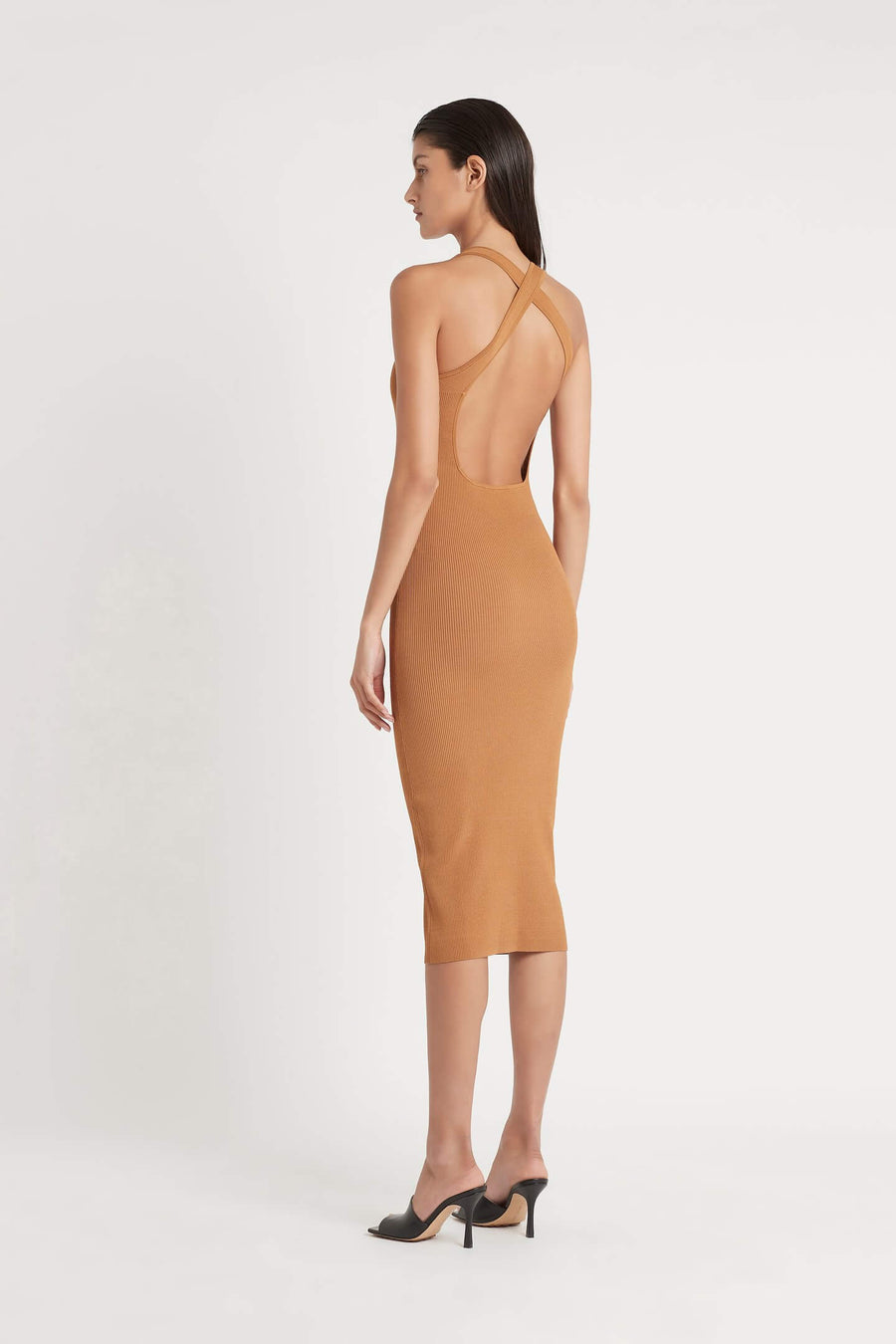 SIR Jasper Cut Out Women's Sleeveless Midi Dress | The New Trend