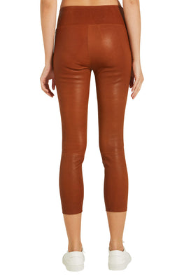 SPRWMN High Waist 3/4 Legging Congac from The New Trend