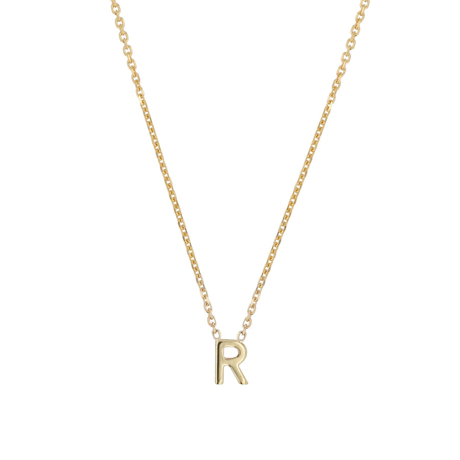 Sarah-Sebastian-Petite-Letter-R-Necklace-Yellow-Gold-The-New-Trend