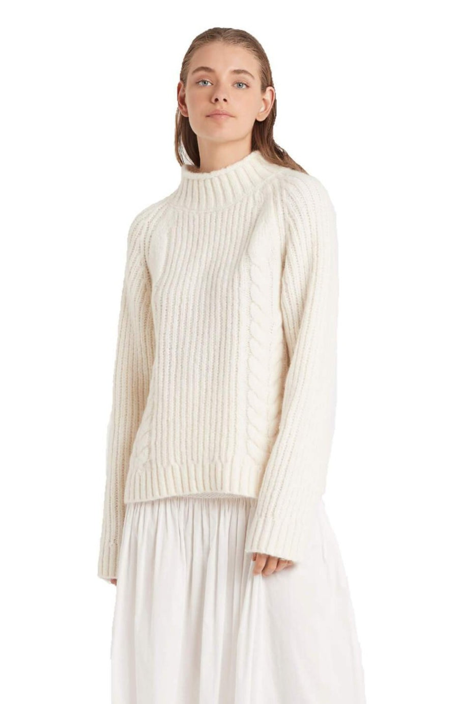 Sir The Label Matti Cable Sweater from The New Trend