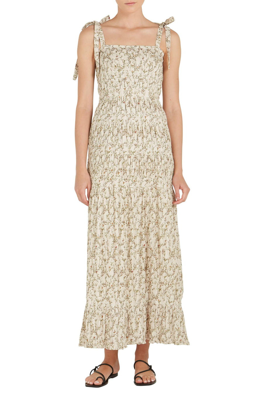 Sir the Label Alba Maxi Dress in Alba Leaf Print from The New Trend