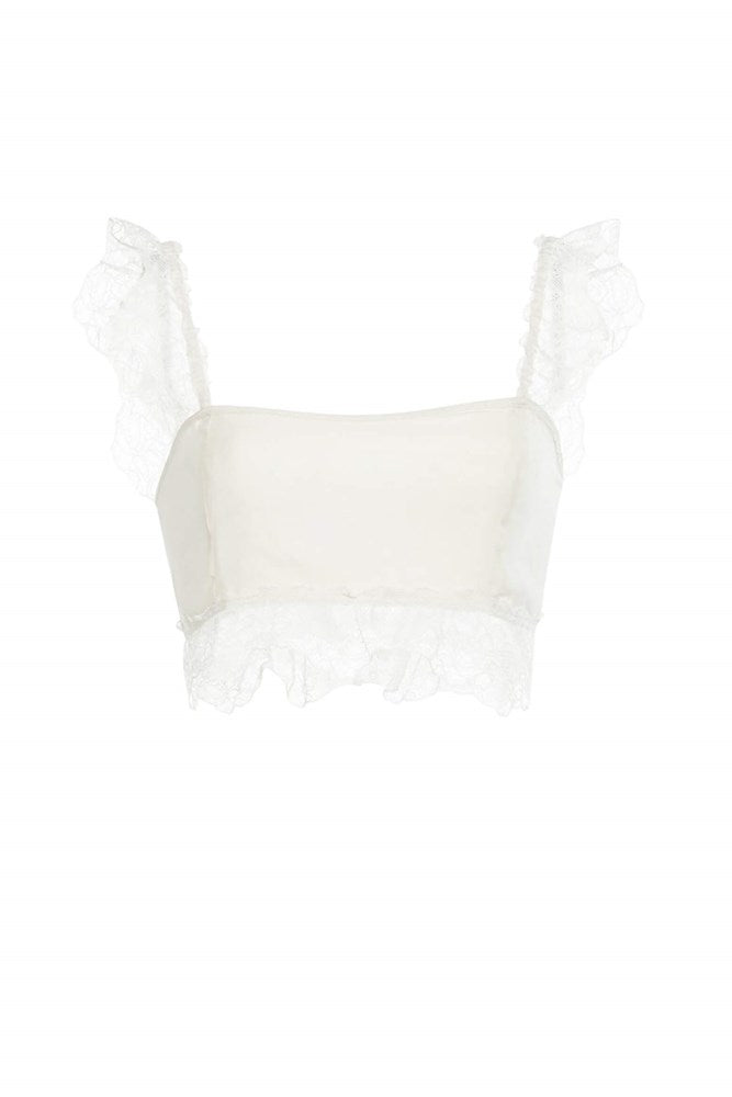 Sir The Label Alma Bandeau in Ivory from The New Trend