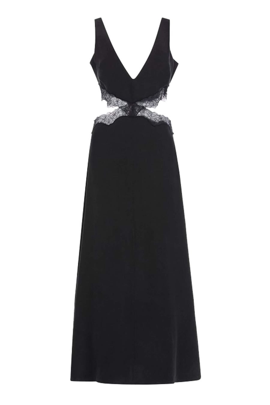 Sir The Label Alma Cut Out Dress in Black from The New Trend