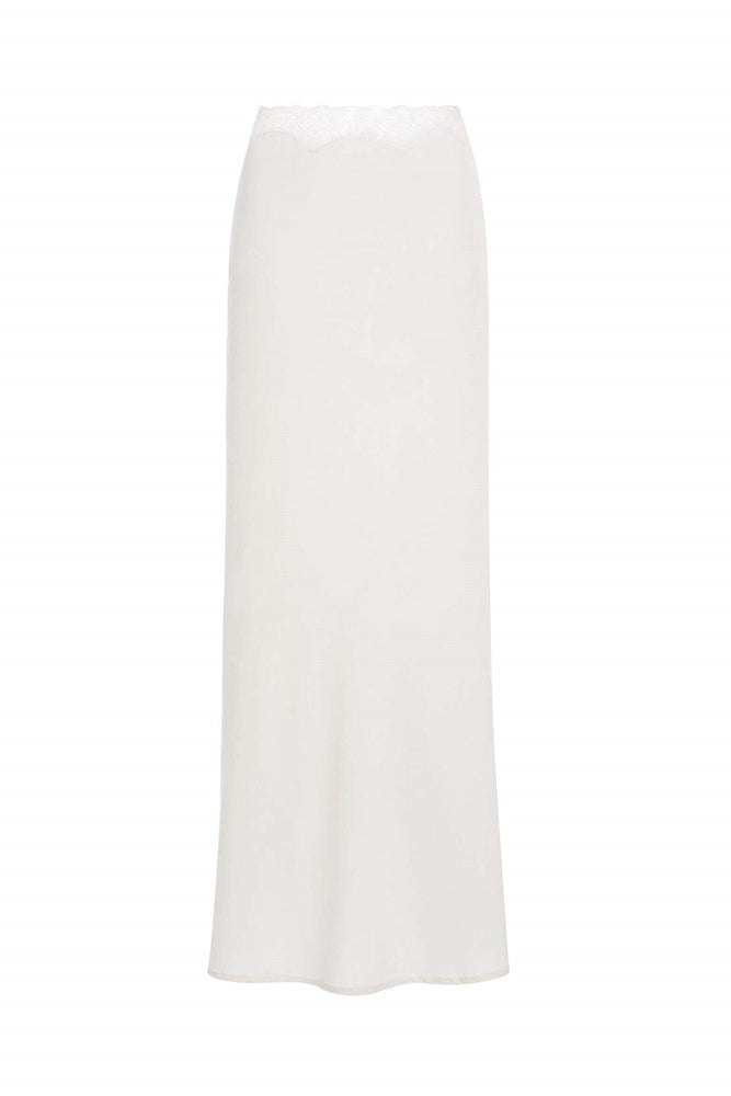 Sir The Label Alma Midi Skirt in Ivory from The New Trend
