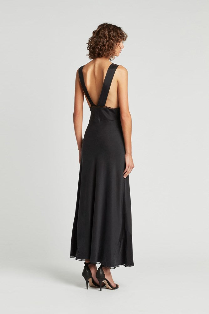 Sir The Label Aries Cut Out Dress in Black from The New Trend
