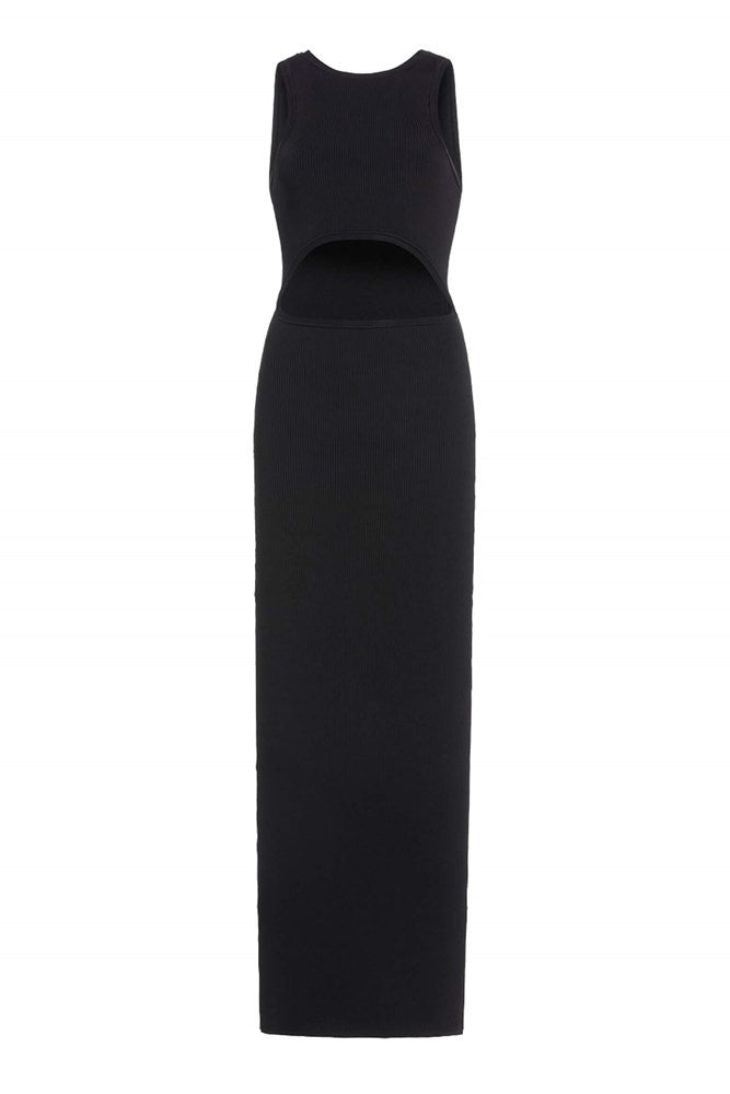Sir The Label Ingrid Cut Out Midi Dress in Black from The New Trend