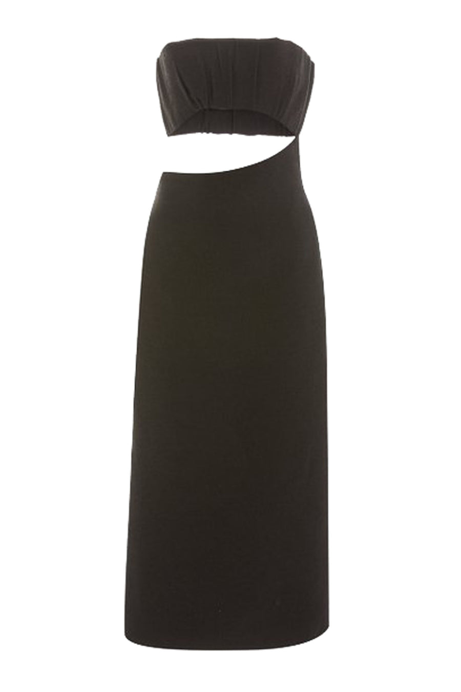 Sir Yves Strapless Dress in Black from The New Trend