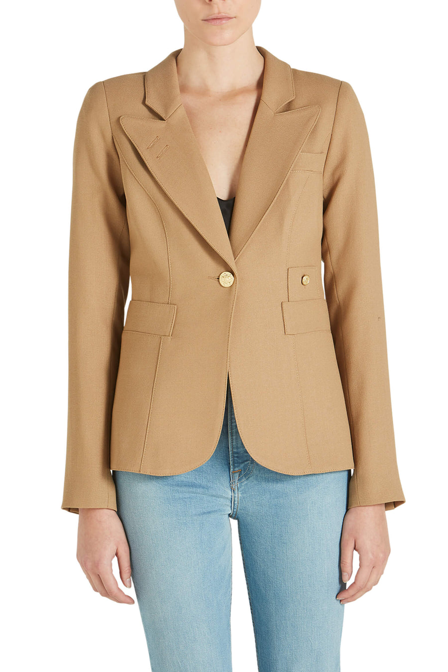 Smythe Classic Duchess Blazer Camel from The New Trend
