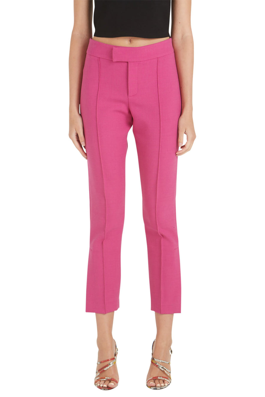 Smythe Stovepipe Pant in Violet from The New Trend
