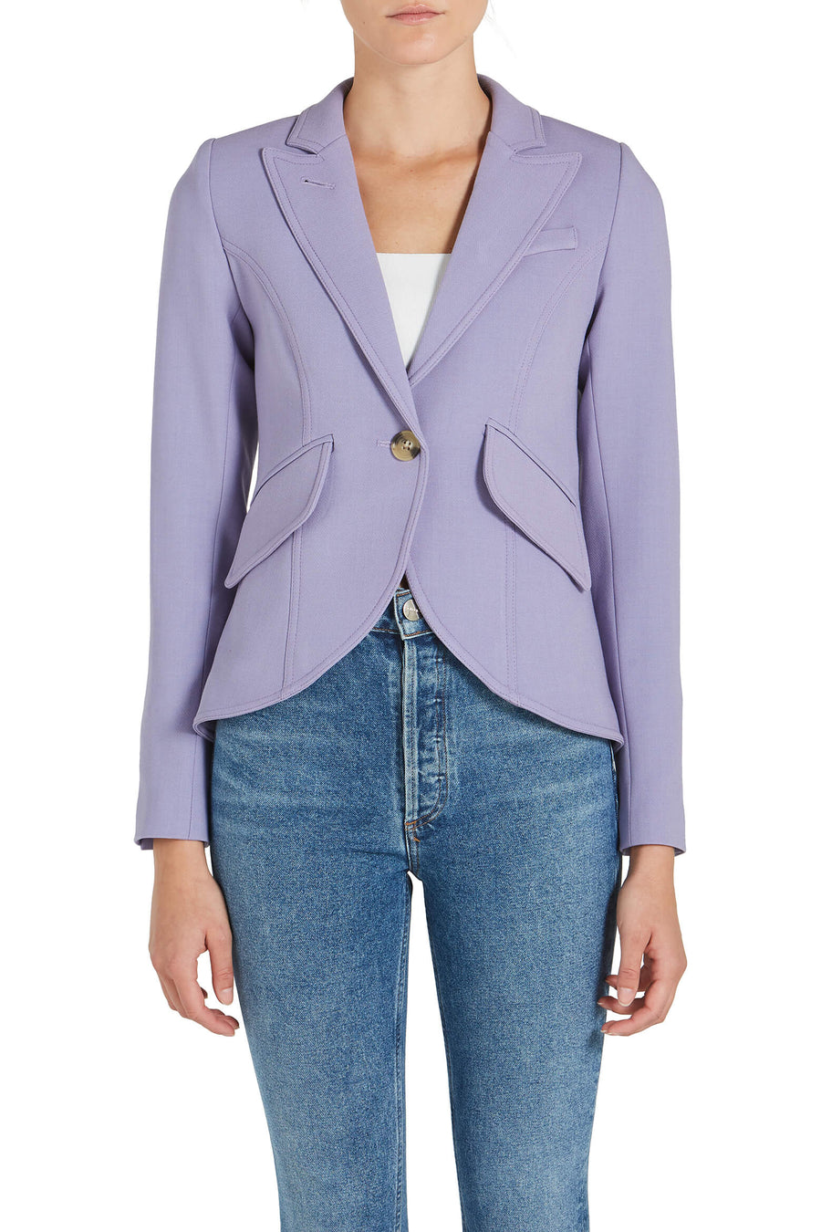 Smythe One Button Blazer from The New Trend