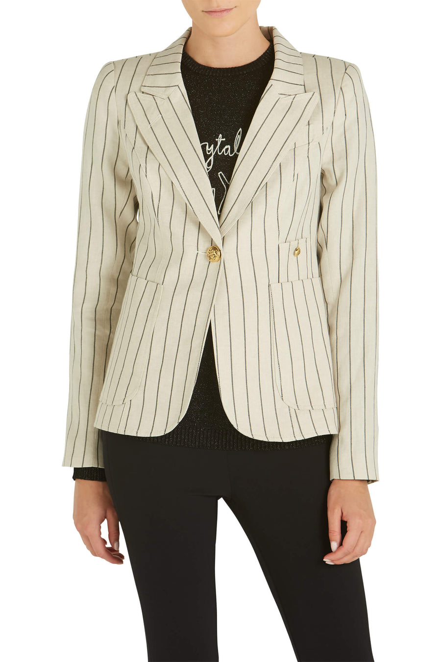Smythe Patch Pocket Duchess Blazer from The New Trend