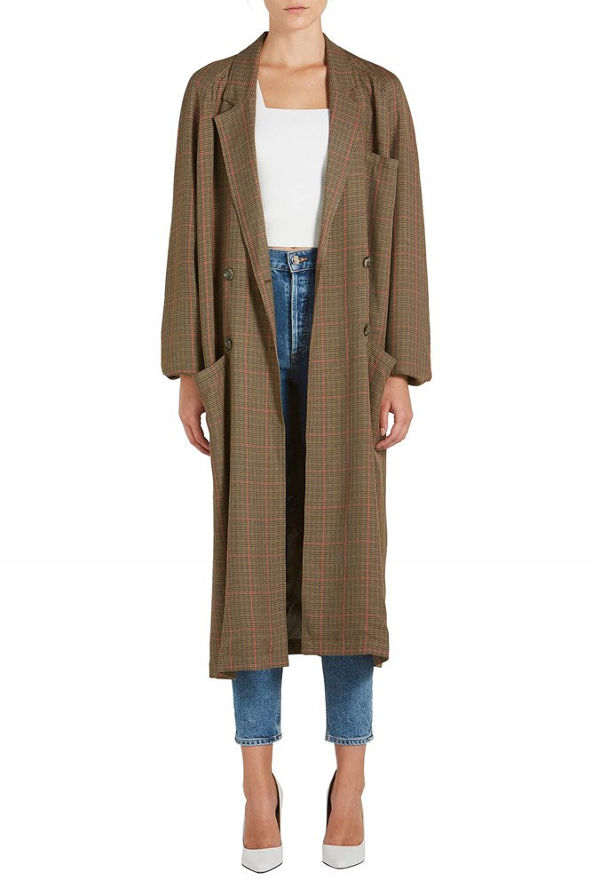 Smythe Raglan Trench from The New Trend