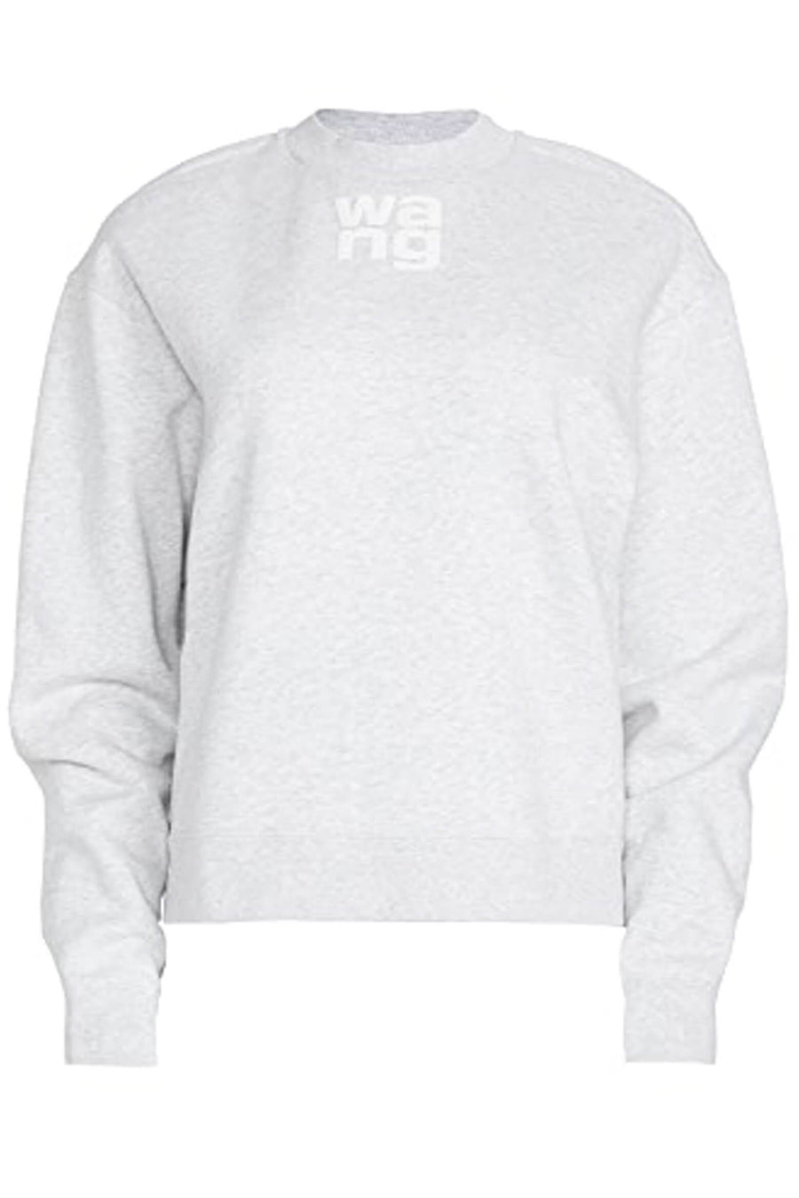 T by Alexander Wang Foundation Terry Crewneck Sweatshirt at The New Trend Women's luxury fashion label