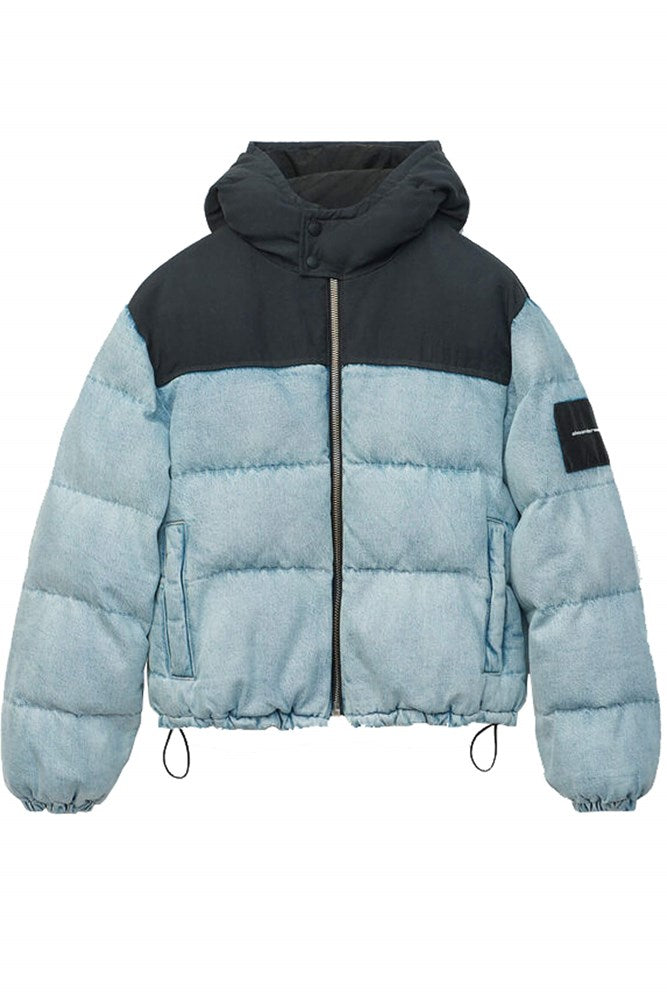 Alexander Wang Hybrid Puffer in Bleach from The New Trend