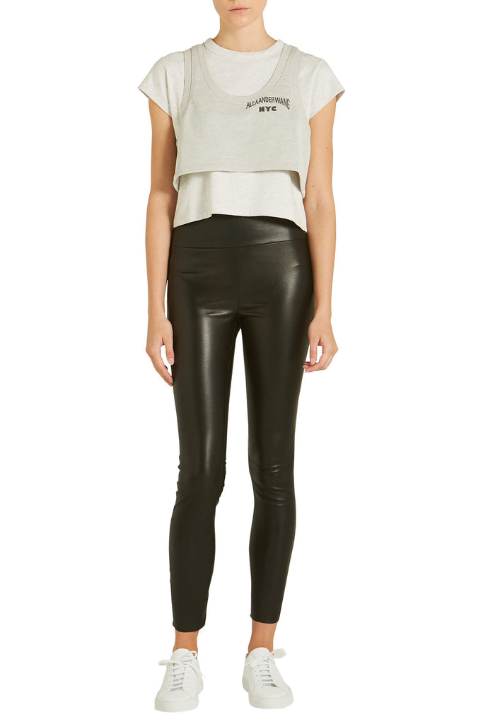 e125564f50b43 SPRWMN High Waist Ankle Legging from The New Trend