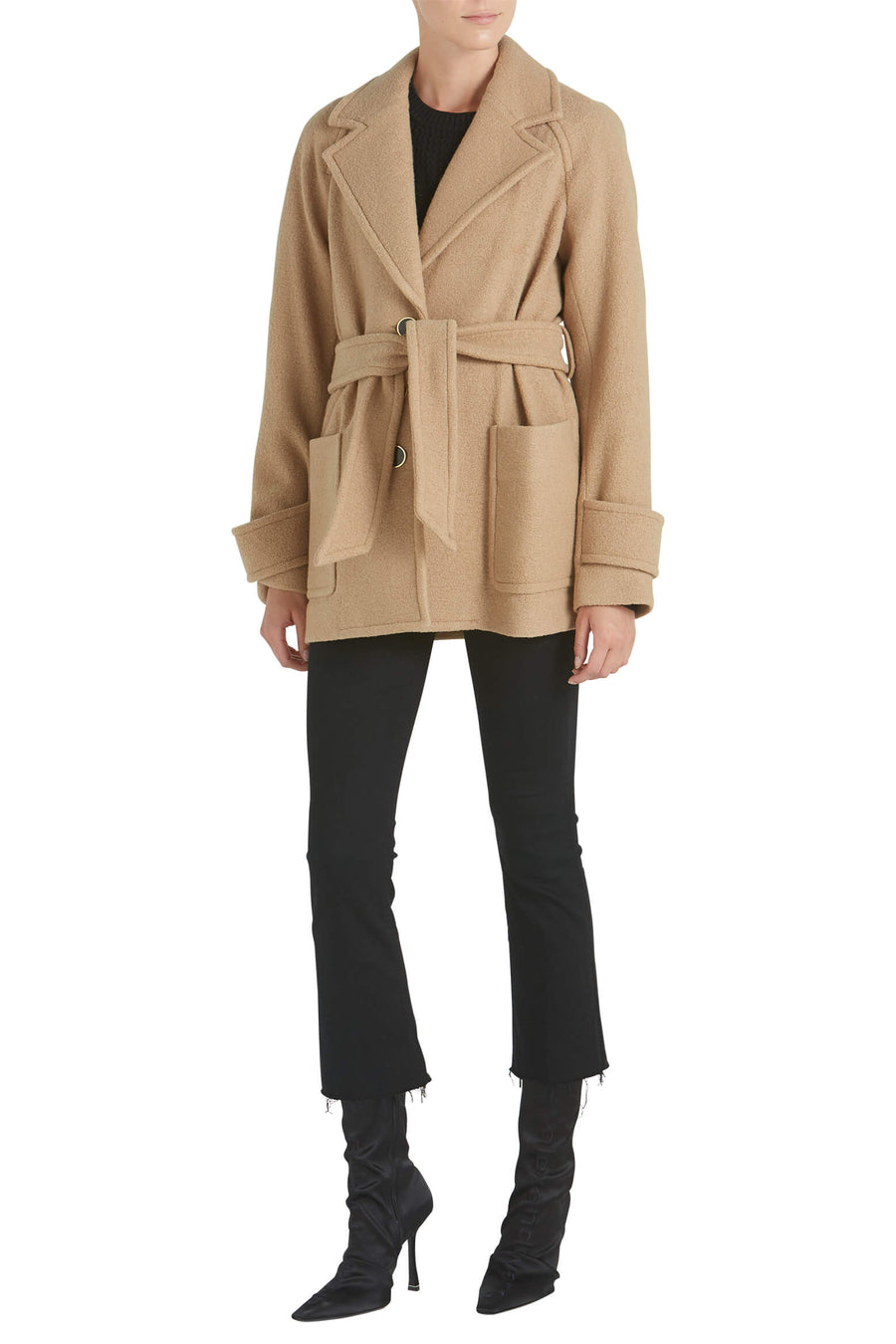 Veronica Beard Bjorn Coat at The New Trend