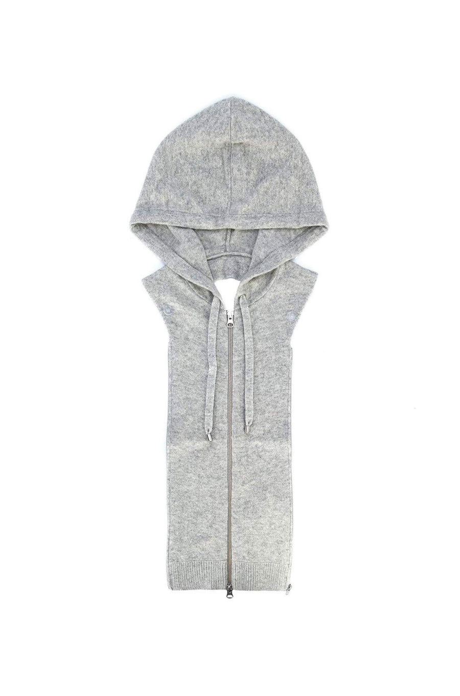 Veronica Beard Cashmere Hoodie Dickey Grey from The New Trend