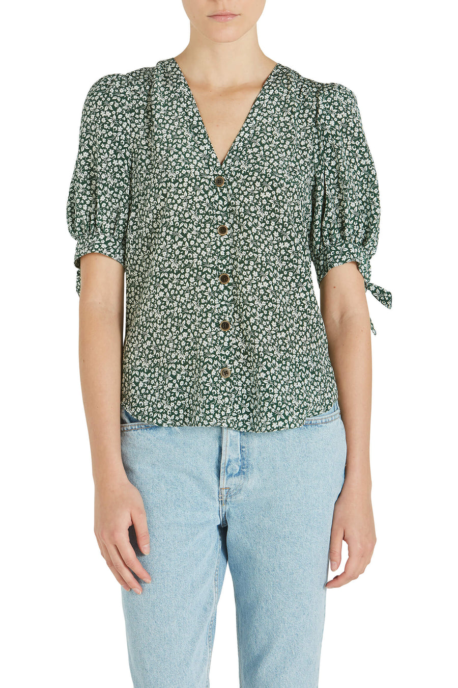 Veronica Beard Gizela Blouse from The New Trend