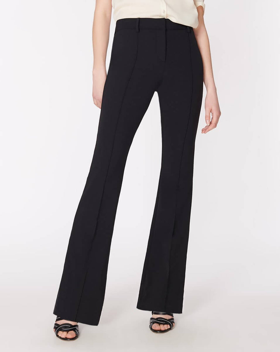Veronica Beard Hibiscus Pant in Black from The New Trend