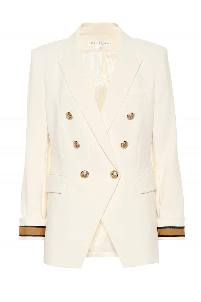 Veronica Beard Timber Dickey Jacket in Antique White from The New Trend