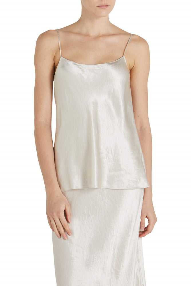 Vince Satin Camisole in Champagne from The New Trend