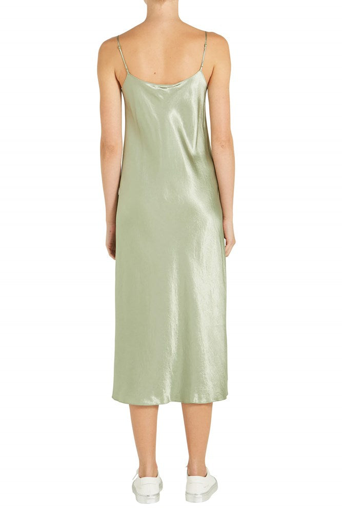 Vince Slip Dress in Sage Flint from The New Trend