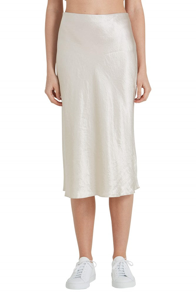 Vince Slip Skirt in Champagne from The New Trend