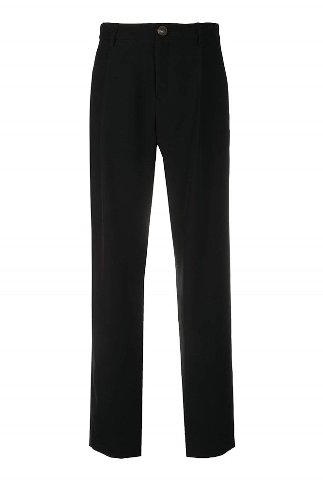 VINCE. High Waist Tapered Pant in Black from The New Trend