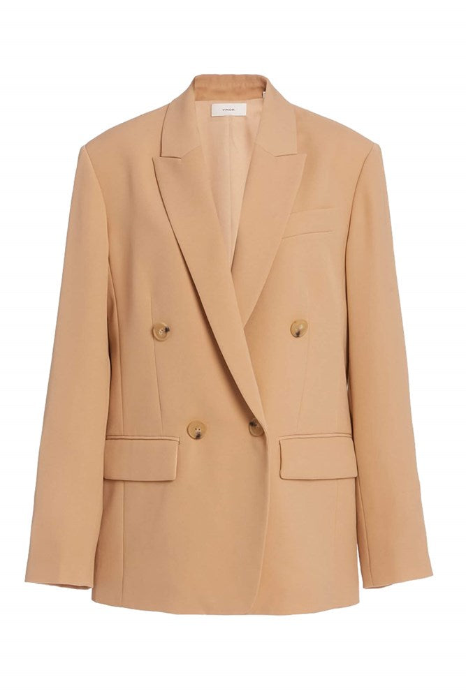 VINCE Husband Blazer in Sand Dollar from The New Trend