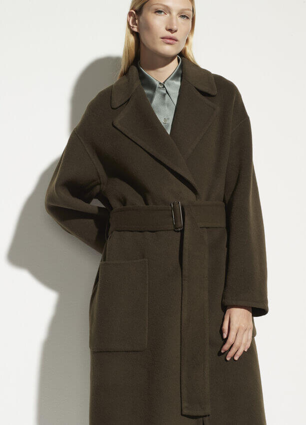 VINCE. Patch Pocket Coat from The New Trend