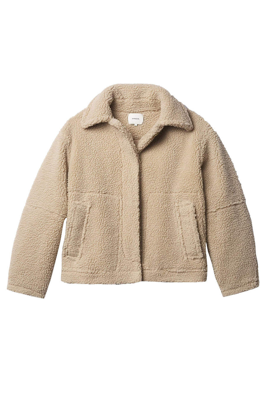 VINCE. Sherpa Jacket from The New Trend