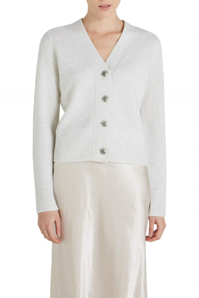 Vince Shrunken Button Cashmere Cardigan from The New Trend