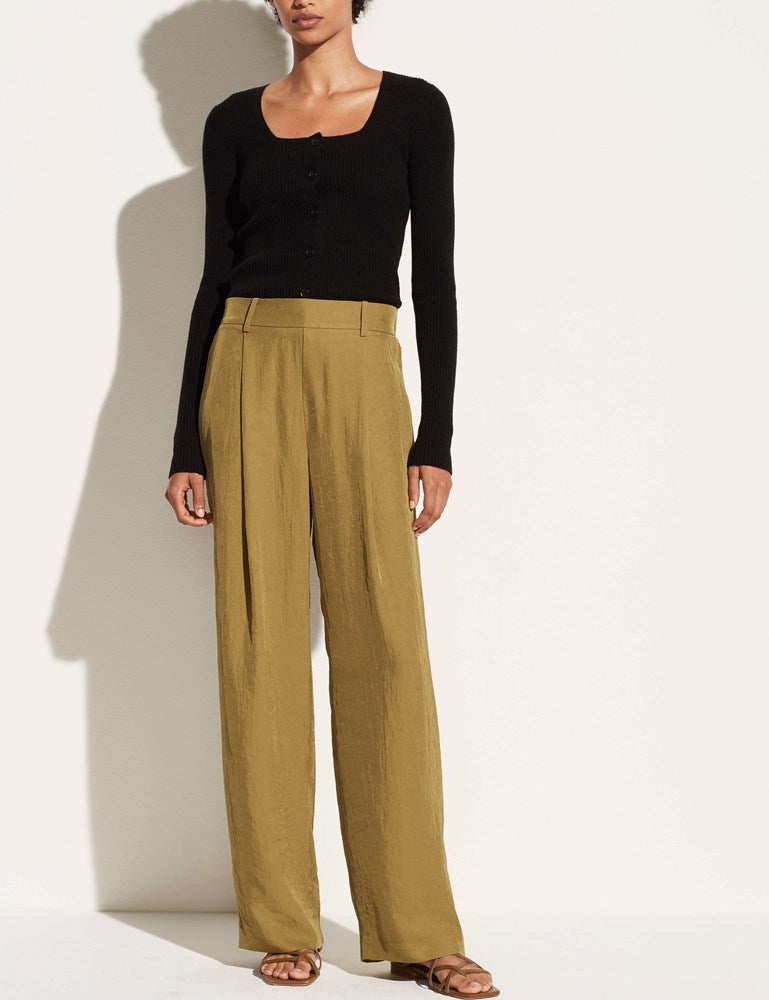 Vince Wide Leg Pull On in Botanica from The New Trend